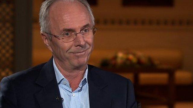 Former England boss Sven-Goran Eriksson
