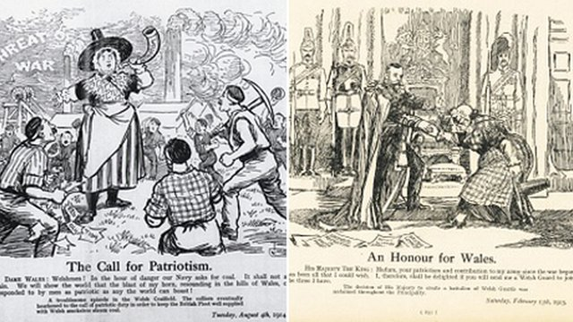 Two of Staniforth's cartoons