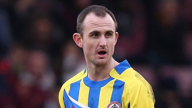 Accrington Stanley striker Francis Jeffers
