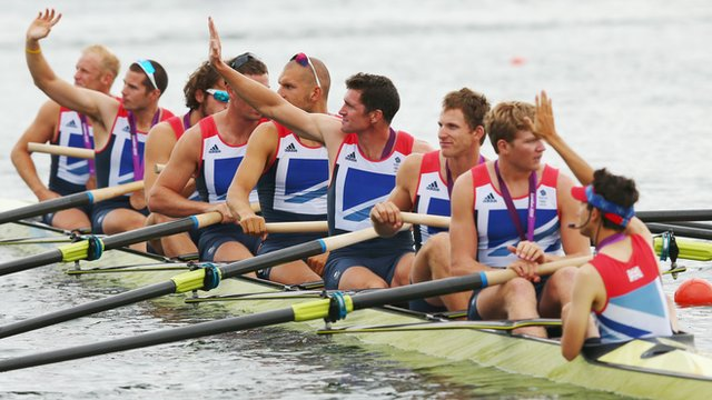 Pete Reed, Andy Triggs Hodge and Alex Gregory, who won gold in the men's four in London, have moved into the eight.