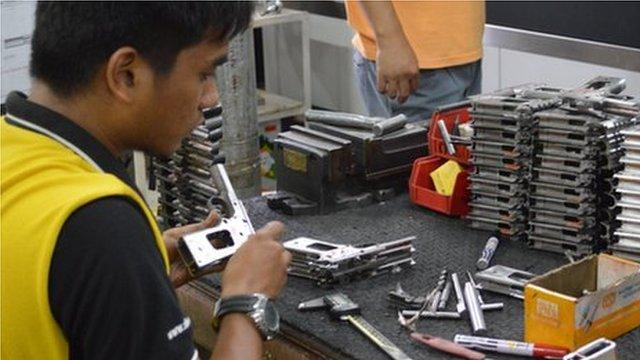 Making guns