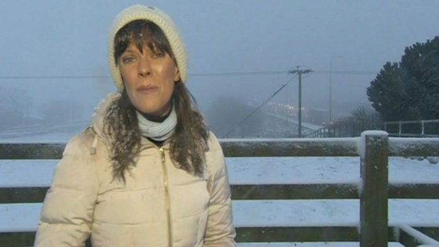 Jenny Hill in Huddersfield, overlooking the M62