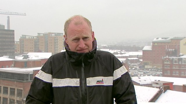 Andy Martin reports from Belfast