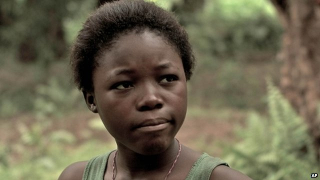 "Rachel Mwanza in a scene from ""War Witch"""
