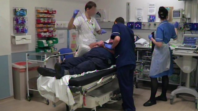 At Leeds General Infirmary, stroke doctors and nurses treat 64-year-old Graham