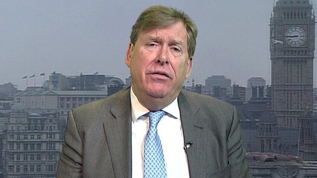 Transport Minister Simon Burns MP