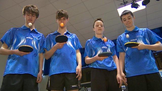 Table tennis teams