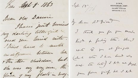 emotional letter to best friend charles darwin letters reveal his emotional side news 51042