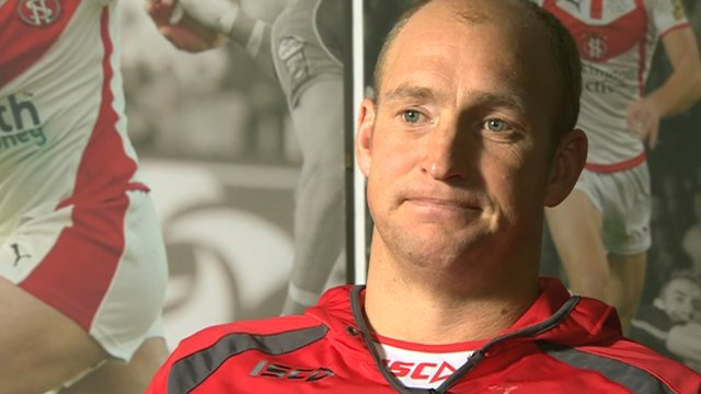 St Helens head coach Nathan Brown