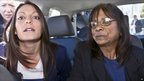 Meredith Kercher's sister Stephanie and mother Arline