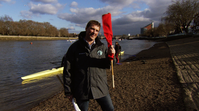 Former Olympic rower, Matthew Pinsent