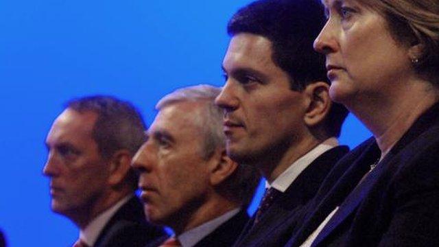 Jack Straw, David Miliband