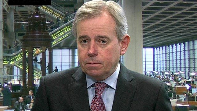 Lloyd's of London chief executive Richard Ward