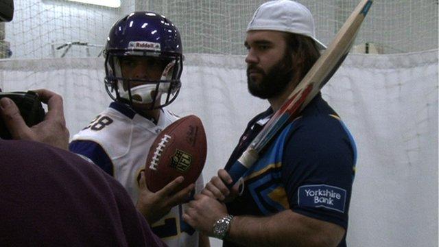 Cricket/NFL Presser