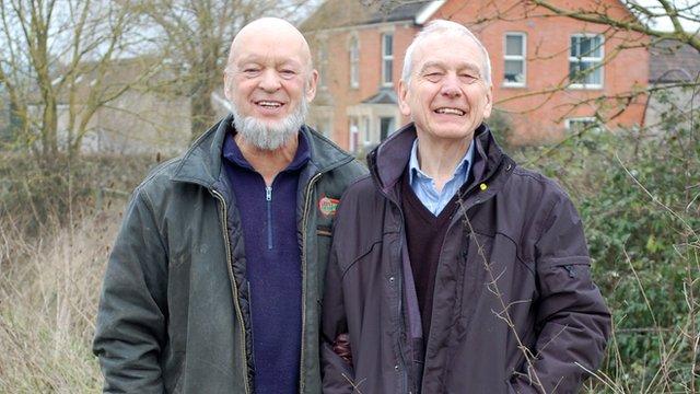 Michael Eavis and John Humphrys