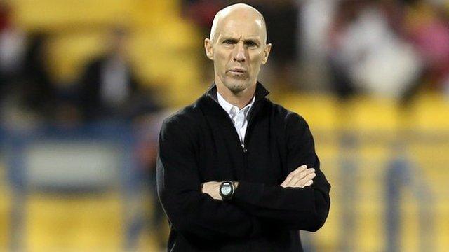 Egypt coach Bob Bradley