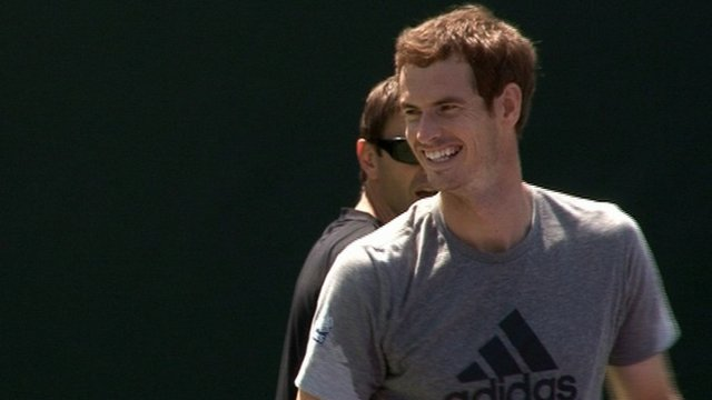 World tennis number three Andy Murray