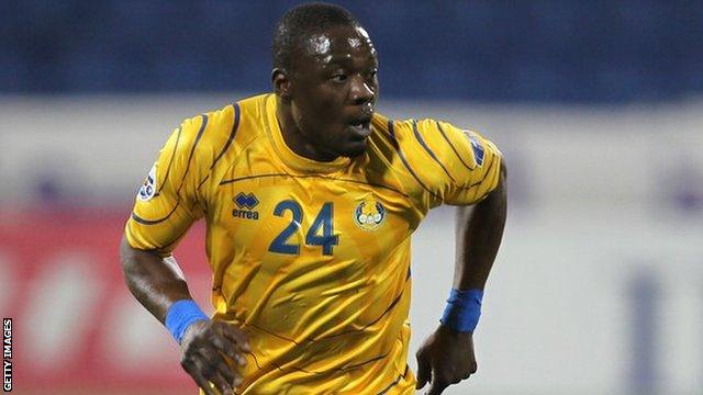 Ivory Coast and Crrstal Palace striker Aruna Dindane