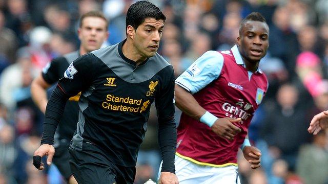 Liverpool forward Luis Suarez