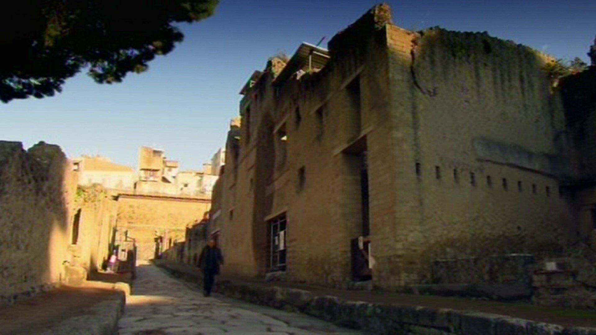 Building in Herculaneum