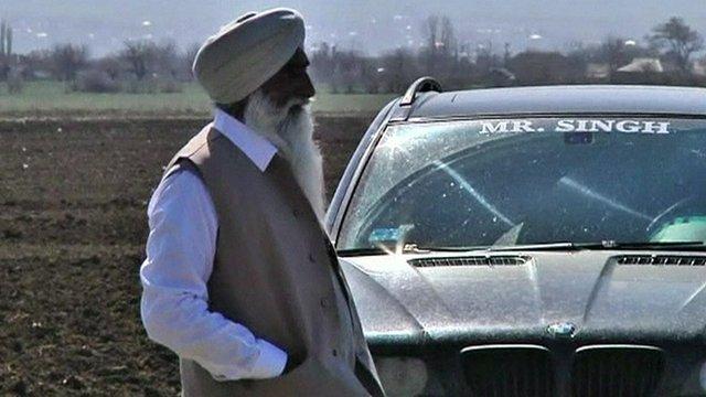 An Indian farmer in Georgia