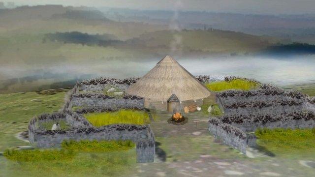 Milking Gap Iron Age farmstead