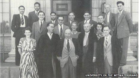 Nelson Mandela's law class of 1944