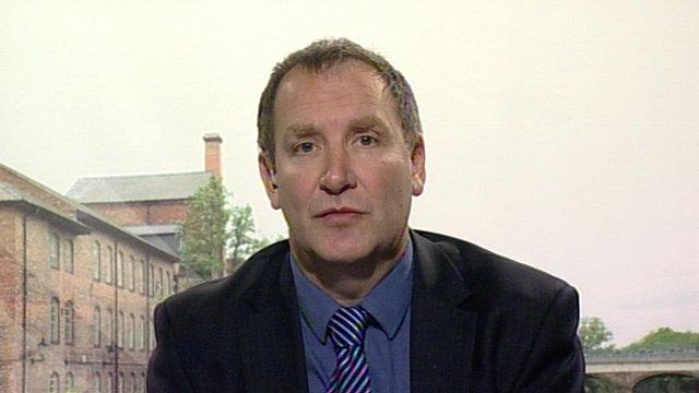 Neil White, editor of Derby Telegraph