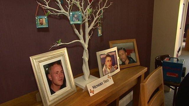 Memory tree at the Jason Spencer centre