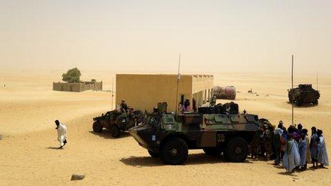 Desert village of Araouane