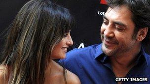 Penelope Cruz and husband Javier Bardem