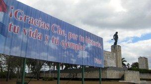 Che Guevara mausoleum in Santa Clara