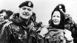Margaret Thatcher in the Falklands