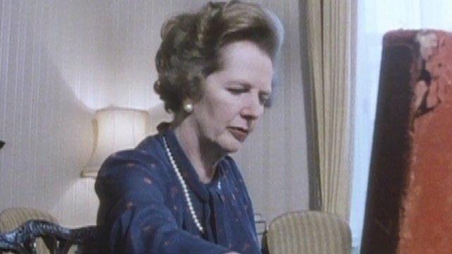 Margaret Thatcher as Prime Minister