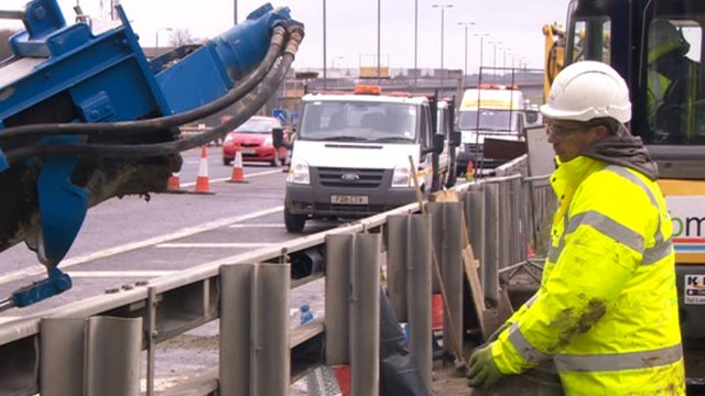 Working on the M62