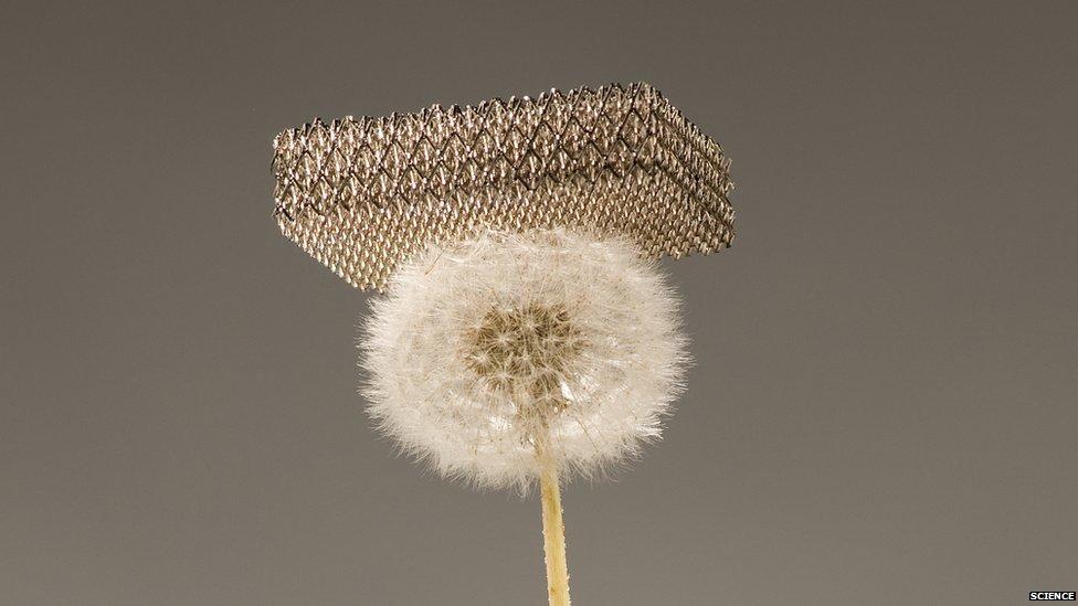 Metal Lattice, Credit: Science