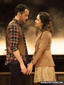 Declan Bennett (Guy) and Zrinka Cvitesic (Girl) in Once