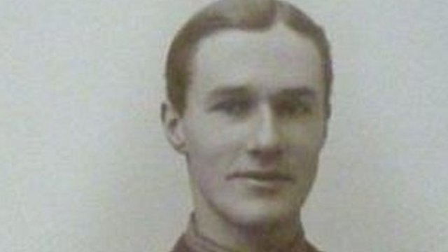 Capt James Lloyd in 1918