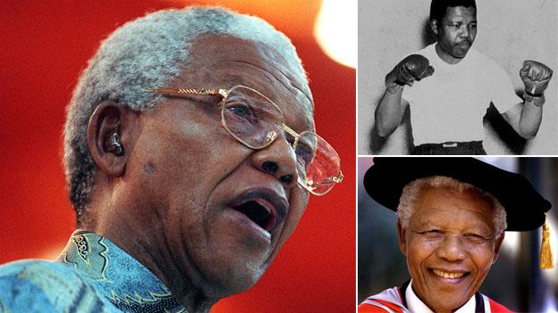 Composite image of Nelson Mandela