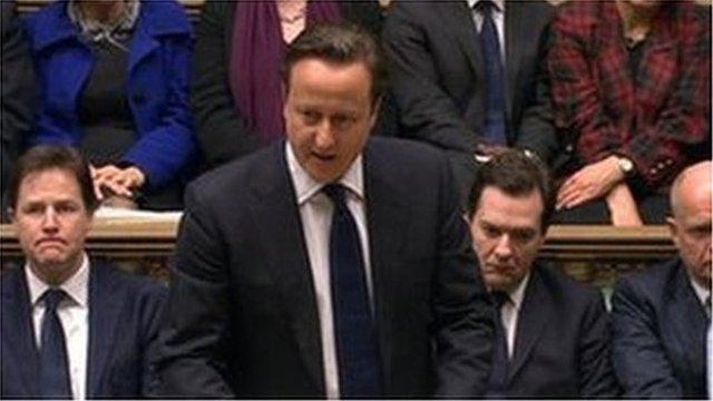 David Cameron arweiniodd y teyrngedau yn Nhŷ'r Cyffredin