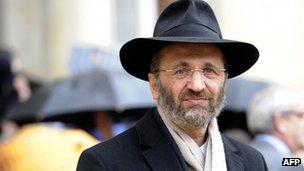 Former Grand Rabbi of France Gilles Bernheim (file image)