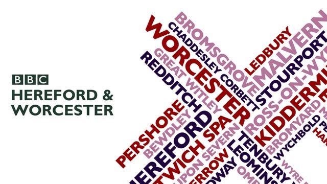 BBC Hereford & Worcester logo