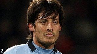 Manchester City playmaker David Silva