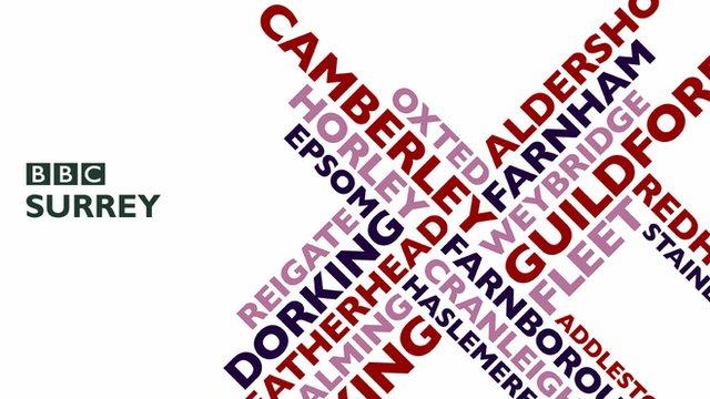 BBC Surrey logo