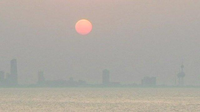 Kuwaiti skyline