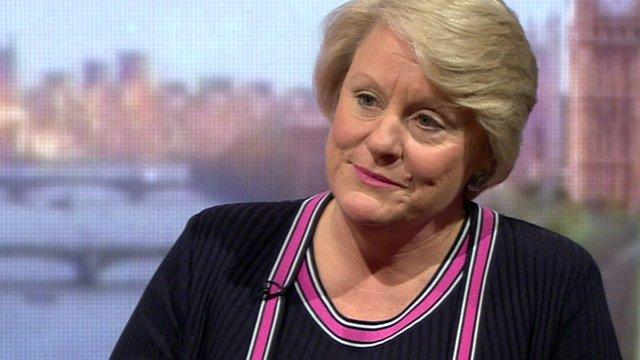 US Acting Ambassador to the UK, Barbara Stephenson