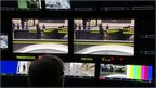 Screens in BBC production gallery