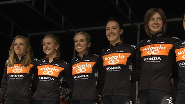 Wiggle-Honda team-mates