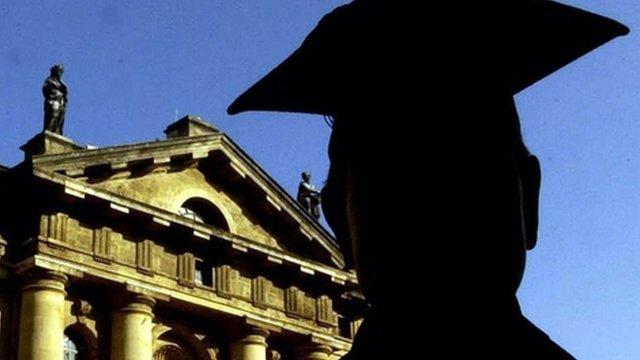 Graduate at Oxford
