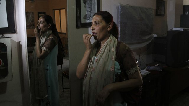 Bindiya Rana, a candidate in the forthcoming Pakistan general election